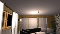 Raumgestaltung Wohnung zehnmorgen5 in der Kategorie Wohnzimmer