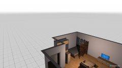 Raumgestaltung Wohnung11 in der Kategorie Wohnzimmer