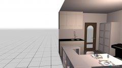 Raumgestaltung Wohnung in der Kategorie Wohnzimmer