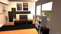 Raumgestaltung Wohnwand01 in der Kategorie Wohnzimmer