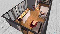 Raumgestaltung WohnZ1 in der Kategorie Wohnzimmer
