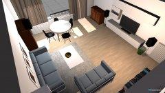 Raumgestaltung wohnz in der Kategorie Wohnzimmer