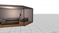 Raumgestaltung wohnzimm in der Kategorie Wohnzimmer