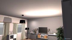 Raumgestaltung wohnzimma in der Kategorie Wohnzimmer