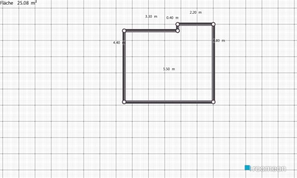 Raumgestaltung Wohnzimmaeraktuell in der Kategorie Wohnzimmer