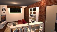 Raumgestaltung Wohnzimmer 2. Version in der Kategorie Wohnzimmer