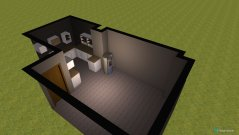 Raumgestaltung Wohnzimmer 2. Versuch in der Kategorie Wohnzimmer