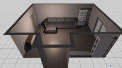 Raumgestaltung Wohnzimmer 2014 in der Kategorie Wohnzimmer
