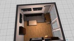 Raumgestaltung Wohnzimmer 3-zimmer in der Kategorie Wohnzimmer