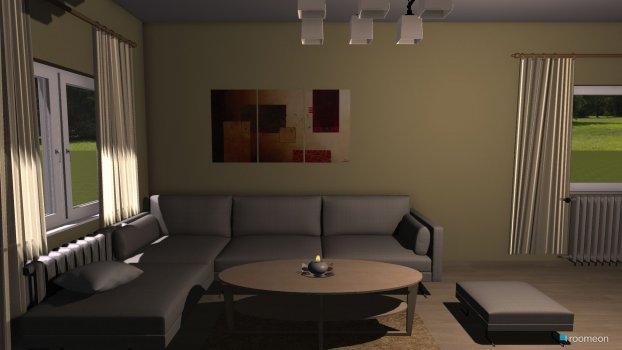 Raumgestaltung Wohnzimmer 333333 in der Kategorie Wohnzimmer