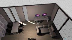 Raumgestaltung Wohnzimmer 3 in der Kategorie Wohnzimmer