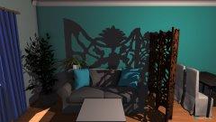Raumgestaltung Wohnzimmer 3B in der Kategorie Wohnzimmer