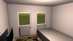 Raumgestaltung Wohnzimmer 3OG in der Kategorie Wohnzimmer