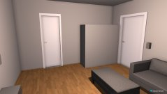 Raumgestaltung Wohnzimmer a in der Kategorie Wohnzimmer