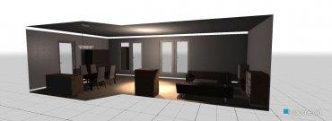 Raumgestaltung Wohnzimmer aktuell in der Kategorie Wohnzimmer