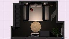 Raumgestaltung Wohnzimmer alias Schlafzimmer in der Kategorie Wohnzimmer