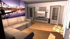Raumgestaltung Wohnzimmer Alois  in der Kategorie Wohnzimmer