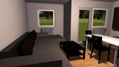 Raumgestaltung Wohnzimmer alternativ in der Kategorie Wohnzimmer