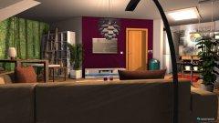 Raumgestaltung Wohnzimmer alternative Sitzecke in der Kategorie Wohnzimmer