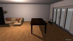 Raumgestaltung Wohnzimmer Anna und Eddy in der Kategorie Wohnzimmer