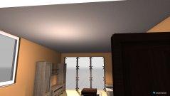 Raumgestaltung Wohnzimmer Apricot in der Kategorie Wohnzimmer