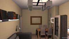 Raumgestaltung Wohnzimmer beige in der Kategorie Wohnzimmer