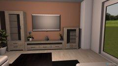 Raumgestaltung wohnzimmer bibi in der Kategorie Wohnzimmer