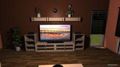 Raumgestaltung Wohnzimmer Chris und Tina in der Kategorie Wohnzimmer