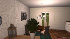 Raumgestaltung Wohnzimmer couch türseite in der Kategorie Wohnzimmer