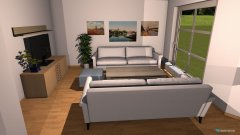 Raumgestaltung Wohnzimmer Dahmestrasse 79 in der Kategorie Wohnzimmer