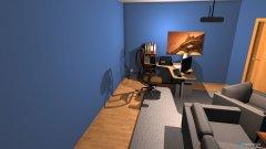Raumgestaltung Wohnzimmer Daniel in der Kategorie Wohnzimmer