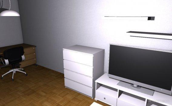 Raumgestaltung Wohnzimmer DH in der Kategorie Wohnzimmer