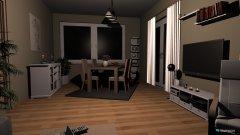 Raumgestaltung Wohnzimmer die Dritte richtige größe anders gestellt in der Kategorie Wohnzimmer