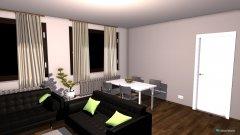 Raumgestaltung Wohnzimmer DSSF in der Kategorie Wohnzimmer