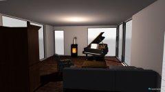 Raumgestaltung Wohnzimmer Entwurf 1 in der Kategorie Wohnzimmer