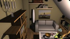 Raumgestaltung Wohnzimmer Entwurf 2 in der Kategorie Wohnzimmer