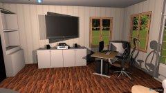Raumgestaltung Wohnzimmer Entwurf in der Kategorie Wohnzimmer