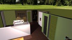 Raumgestaltung Wohnzimmer-Essbereich_Farbgestaltung in der Kategorie Wohnzimmer