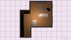 Raumgestaltung Wohnzimmer Essen - Herd oben in der Kategorie Wohnzimmer