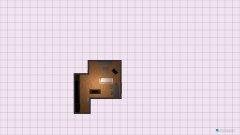 Raumgestaltung Wohnzimmer Essen - Kücheninsel an Wand in der Kategorie Wohnzimmer
