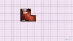 Raumgestaltung Wohnzimmer Esstische Vorne in der Kategorie Wohnzimmer