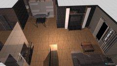 Raumgestaltung wohnzimmer esszimmer küche in der Kategorie Wohnzimmer