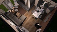 Raumgestaltung Wohnzimmer + Esszimmer in der Kategorie Wohnzimmer