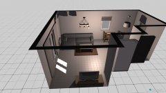 Raumgestaltung Wohnzimmer Esszimmer in der Kategorie Wohnzimmer