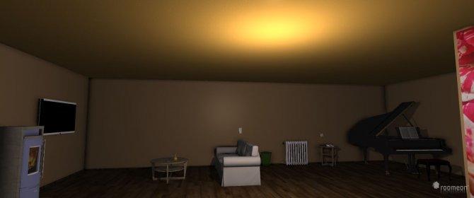 Raumgestaltung Wohnzimmer+Esszimmer in der Kategorie Wohnzimmer