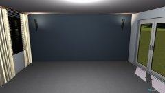 Raumgestaltung wohnzimmer exakt leer in der Kategorie Wohnzimmer