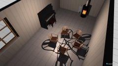 Raumgestaltung Wohnzimmer Falkenau in der Kategorie Wohnzimmer