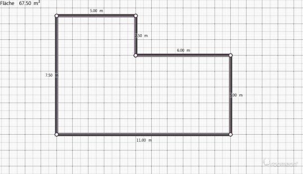 Raumgestaltung wohnzimmer familie wagner in der Kategorie Wohnzimmer