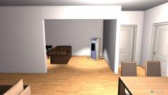 Raumgestaltung Wohnzimmer-Gästezimmer komplett in der Kategorie Wohnzimmer