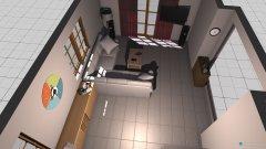 Raumgestaltung Wohnzimmer Gestaltung 2 in der Kategorie Wohnzimmer